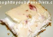 Cheesecake Squares Low Carb Version