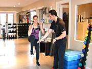 Fat Loss Interval: Weighted Speed Skaters