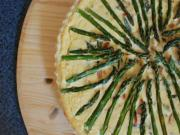 Asparagus and Smoked Salmon Tart