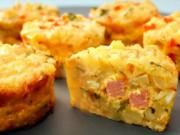 Frittata Of Courgettes and Bacon