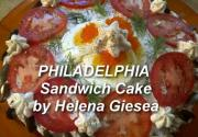 Sandwich Cake with Philadelphia Cream Cheese