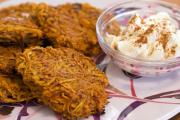 Jewish love to eat latkes on Hanukkah as well