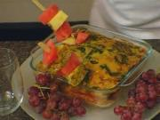 Turkey, Spinach & Sausage Frittata