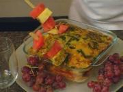 Turkey, Spinach & Sausage Frittata