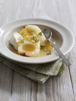 Honey-Roast Pears With Orange-Blossom And Yoghurt