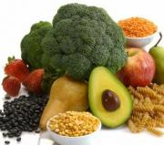 Colon cleansing foods are usually fibrous and are eaten raw.