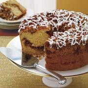 Baked Coffee Swirl Cake