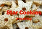 Butter Cookies (hviezdicky) Recipe - Czech Christmas Treat