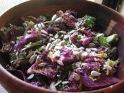 Purple Kale Salad