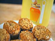 Honey Oat Banana Muffins