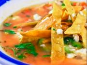 Tortilla Soup with Chicken and Ancho Chile