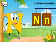 The N Song | Letter N Song | Story of Letter N | ABC Songs