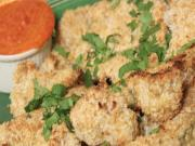 Coconut Almond Encrusted Cauliflower