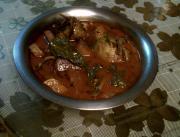 Kashmiri Kohlrabi Leaf Curry