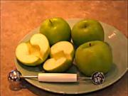 Quick Tip on How to Core an Apple