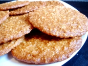 Anzac Biscuits with Whiskey