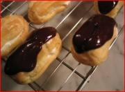 Making Chocolate Eclairs