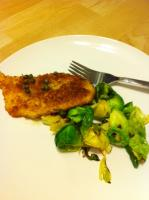 Lemon Chicken and Brussels Sprouts