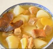 Turnip Lean Pork Soup
