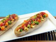 Mixed Vegetable Open Hot Dog Roll Healthy Breakfast Snack By Tarla Dalal