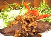 Venison with Fudge and Walnuts Recipe - Cooking Made Simple by Belucci