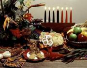 Popular African-American foods served during the Kwanzaa