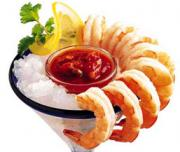 For Seafood lovers shrimp starters are the center of attraction of any party menu