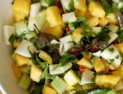 Spicy Tropical Pineapple Salad