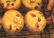 Fruited Orange Cranberry Muffins