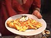 Tex Mex Omelet - George Duran (DishandDine Cookbook Author Series)