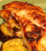 Apple-Wine Broiler Chicken