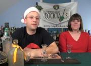 Mistletoe Aperitif - Layered Cocktail