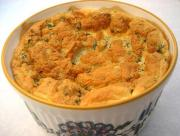 Cheese And Chive Souffle