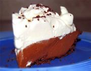 Chocolate Mace Cream Pie
