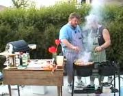 BBQ Garlic Steaks
