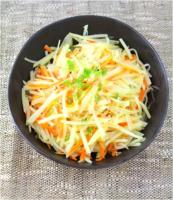 Korean Potato, Carrot Onion Stir Fry