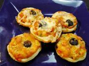 Eggless Mini Savory Tarts