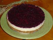 Raw Lemon and Berry Cheesecake