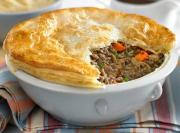 Savory Liver and Vegetable Pie
