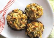 Mushrooms Stuffed With Hazelnuts