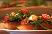 Grilled Caprese Bruschetta