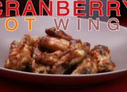 Sweet and Tangy Chicken Wings in Cranberry Sauce