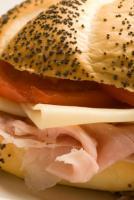 Ham and Swiss Rolls