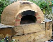 outdoor clay oven made easy