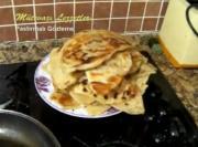 Turkish Pastırmalı Gozleme