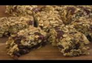 Cranberry Granola Power Bars