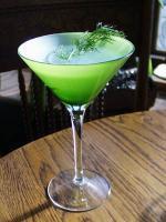 The Martini - easy drink prepared with vodka