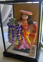 Tradionally dressed Japanese doll is an integral part of any Japanese Girl's day party