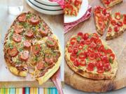 Wegmans Grilled Naan Pizza 2 Ways