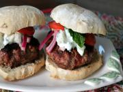 Easy Gourmet Burger - Greek